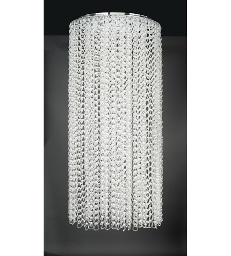 PLC Lighting Cyclops 13 Light Chandelier in Polished Chrome 34100-PC photo
