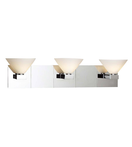PLC Lighting 543-PC Matrix 3 Light 22 inch Polished Chrome Vanity Light Wall Light photo