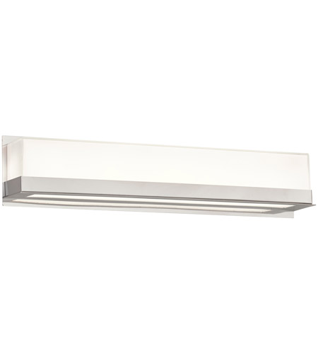 Plc Lighting 55034pc Delphina Led 24 Inch Polished Chrome Vanity Light Wall Medium