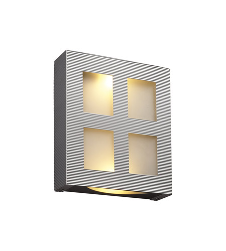 PLC Lighting Gayle 2 Light Wall Sconce in Aluminum 6416-AL photo