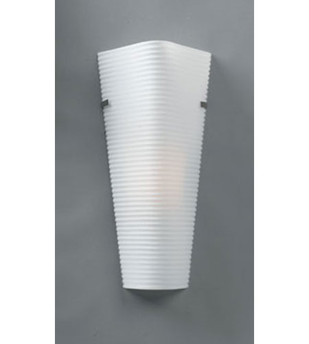 PLC Lighting Brentwood 1 Light Wall Sconce in Satin Nickel 6565-SN photo