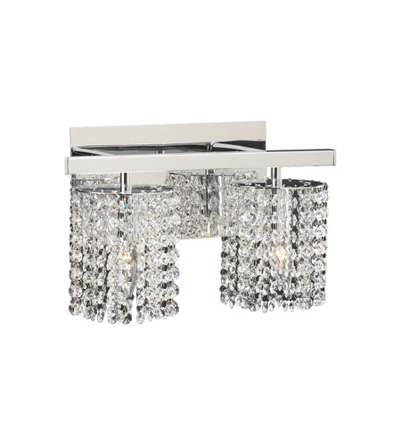 PLC Lighting Rigga 2 Light Vanity Light in Polished Chrome 72192-PC photo