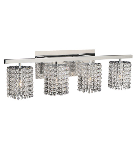 PLC Lighting Rigga 4 Light Vanity Light in Polished Chrome 72196-PC photo