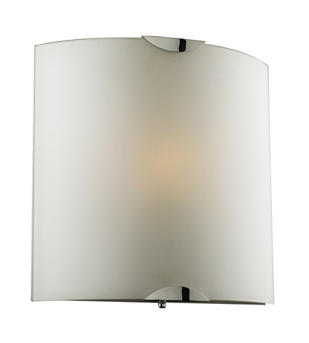 PLC Lighting 7522-PC Playa 1 Light 12 inch Polished Chrome ADA Wall Sconce Wall Light photo