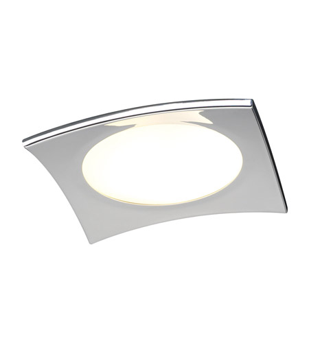 PLC Lighting Quidam 1 Light Flush Mount in Polished Chrome 7642-PC photo