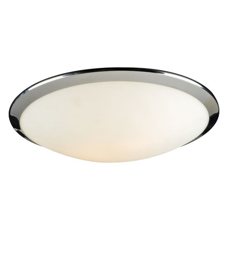 PLC Lighting 7659-PC Preston 2 Light 15 inch Polished Chrome Flush Mount Ceiling Light photo
