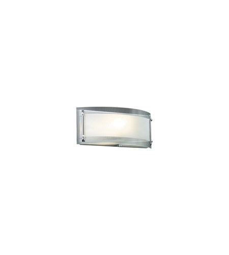 PLC Lighting Millennium 1 Light Wall Sconce in Polished Chrome 7812-PC photo