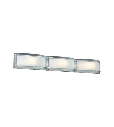 PLC Lighting Millennium 3 Light Vanity Light in Polished Chrome 7836-PC photo