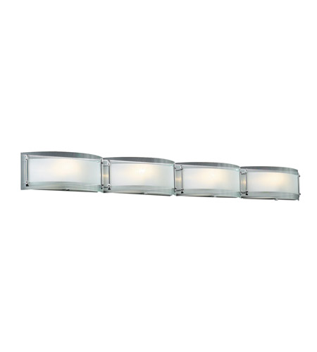 Plc Lighting 7848 Pc Millennium 4 Light 48 Inch Polished Chrome Vanity Wall