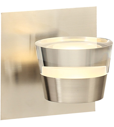 Satin Nickel Sitra Bathroom Vanity Lights