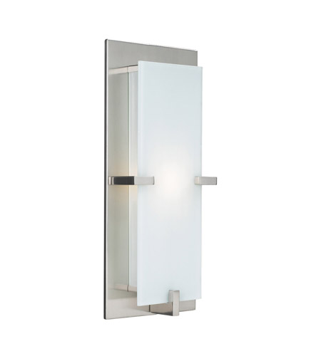 PLC Lighting 909/CFL-SN Polipo 1 Light 7 inch Satin Nickel ADA Wall Sconce Wall Light in CFL photo