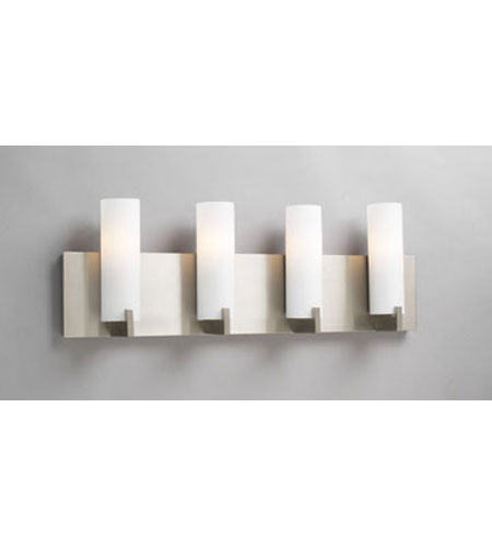 PLC Lighting 912-SN Polipo 4 Light 24 inch Satin Nickel Vanity Wall Light photo