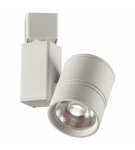 Plc Lighting Tr264wh Lenka 1 Light 12v White Track Ceiling