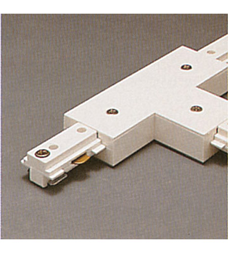PLC Lighting Track Accessories 1-Circuit T Connector in White TR132-WH photo