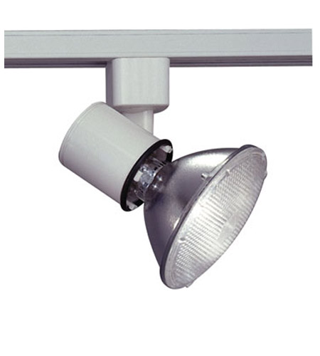 PLC Lighting Comet (I) 1 Light Track Fixture in White TR200-WH photo