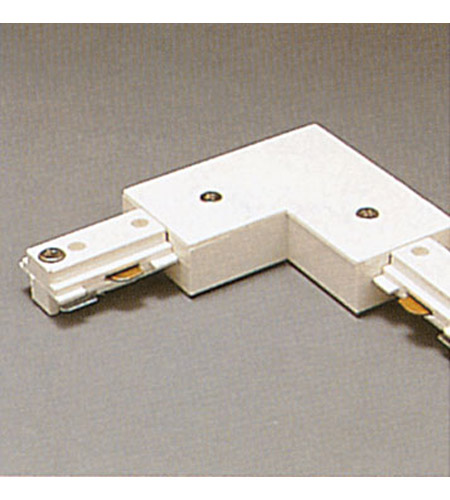 Plc Lighting Tr2131 Wh Two Circuit 120v White L Connector Ceiling Light Track