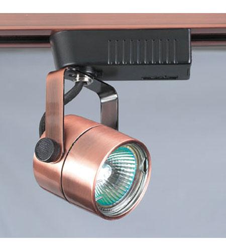 Plc Lighting Tr28 Cp Slick 12v 1 Light Copper Track Fixture Ceiling