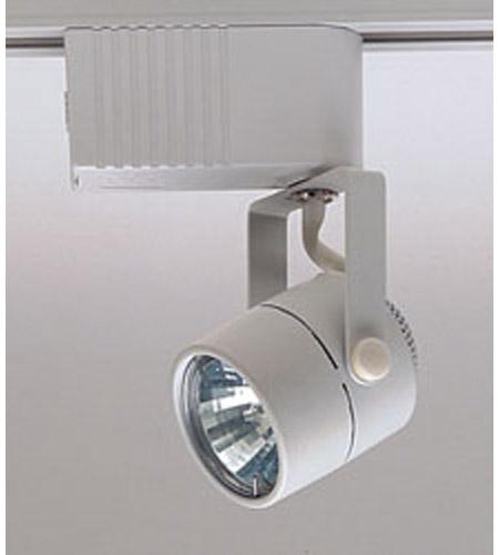 Plc Lighting Tr28 Wh Slick 1 Light 12v White Track Fixture Ceiling