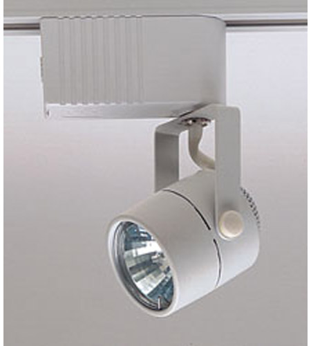 Plc lighting tr28 wh slick 1 light 12v white track fixture ceiling light aloadofball Image collections