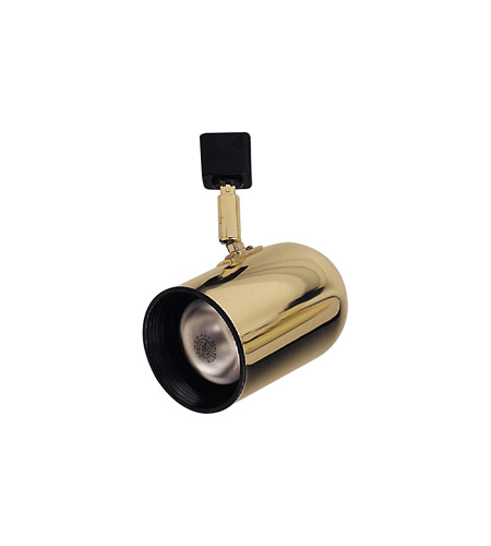 Plc lighting bullet track fixture in polished brass tr303s pb aloadofball Images