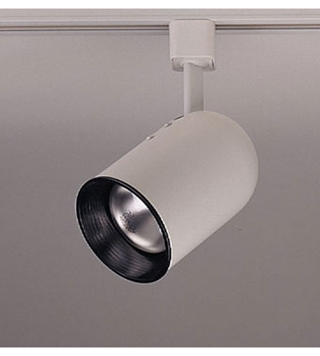 PLC Lighting Bullet 1 Light Track Fixture in White TR303S-WH photo