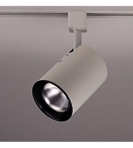 PLC Lighting Cylinder 1 Light Track Fixture in White TR305S-WH photo