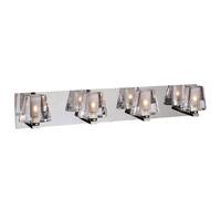 PLC Lighting 1024-PC Cheope 4 Light 30 inch Polished Chrome Vanity Light Wall Light