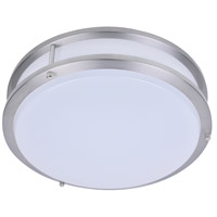 Kirk LED 14 inch Satin Nickel Flush Mount Ceiling Light