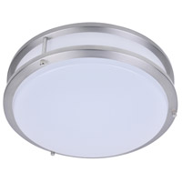 Kirk LED 18 inch Satin Nickel Flush Mount Ceiling Light
