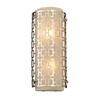PLC Lighting Ethen 2 Light Wall Sconce in Polished Chrome 12151-PC
