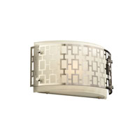 PLC Lighting 12153-PC Ethen 1 Light 12 inch Polished Chrome Wall Sconce Wall Light photo thumbnail