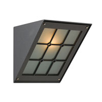 PLC Lighting Bremen 1 Light Outdoor Wall Sconce in Bronze 1303-BZ