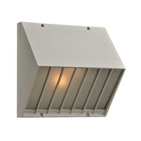 PLC Lighting Castana 2 Light Outdoor Wall Sconce in Silver 1313-SL