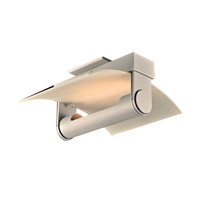 PLC Lighting Saila 1 Light Wall Sconce in Silver 1384SL
