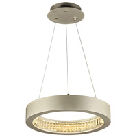 PLC Lighting 14833AL Orion LED 32 inch Aluminum Pendant Ceiling Light