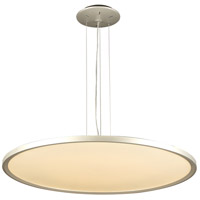 PLC Lighting 14848AL Thin LED 32 inch Aluminum Pendant Ceiling Light