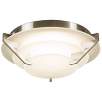 PLC Lighting 1542SN Palladium LED 9 inch Satin Nickel Flush Mount Ceiling Light photo thumbnail