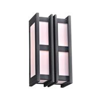 PLC Lighting 16632BZ Freeport 1 Light 14 inch Bronze Outdoor Wall Light in Incandescent