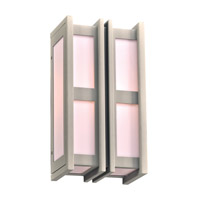Freeport 1 Light 14 inch Silver Outdoor Wall Light in Fluorescent