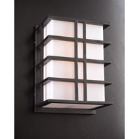 PLC Lighting Amore 1 Light Outdoor Wall Light in Bronze 16646BZ126GU24