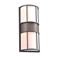Larissa 2 Light 21 inch Bronze Outdoor Wall Light in Fluorescent Quad26