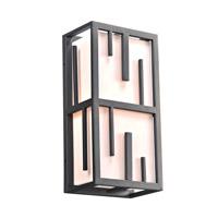 PLC Lighting 16662BZ Keller 2 Light 18 inch Bronze Outdoor Wall Light in Incandescent