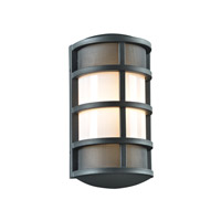 Olsay 1 Light 15 inch Bronze Outdoor Wall Light in Fluorescent