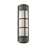PLC Lighting Olsay 2 Light Outdoor Wall Light in Bronze 16673BZ226GU24