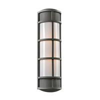 PLC Lighting 16673BZ Olsay 2 Light 27 inch Bronze Outdoor Wall Light in Incandescent