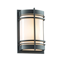 Telford 1 Light 14 inch Bronze Outdoor Wall Light in Fluorescent