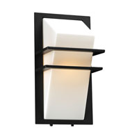 PLC Lighting Juventus 1 Light Outdoor Wall Sconce in Bronze 1741-BZ