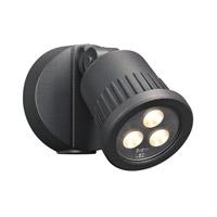 PLC Lighting 1763BZ Ledra LED 6 inch Bronze Outdoor Wall Light
