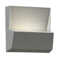 PLC Lighting Faro 3 Light Outdoor Wall Sconce in Silver 1771-SL alternative photo thumbnail