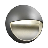 PLC Lighting Tummi 3 Light LED Outdoor Wall Sconce in Bronze 1775-BZ